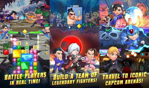 puzzle fighter ios android