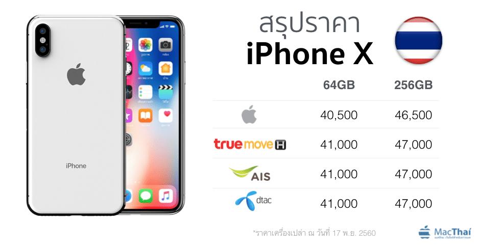 summary-iphone-x-price-thailand-truemove-h-ais-dtac-apple-online