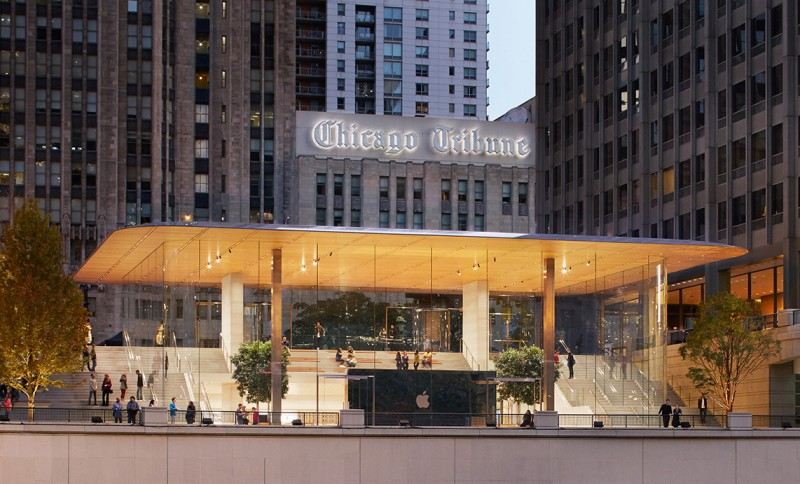 Apple Michigan Avenue ภาพจาก Apple Newsroom