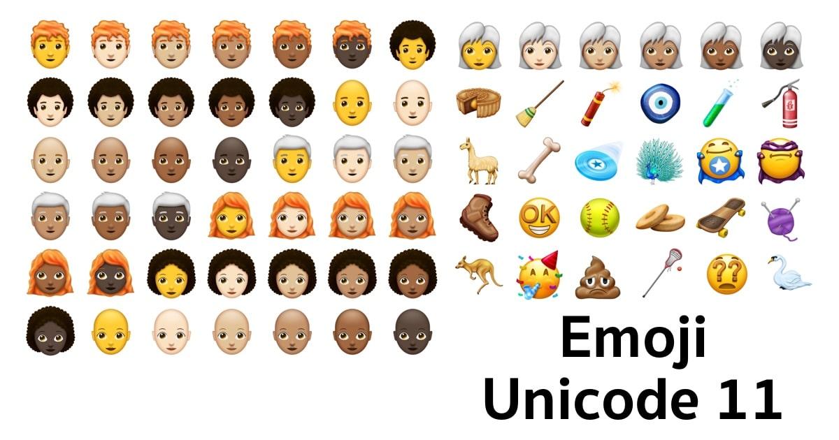 emoji unicode 11