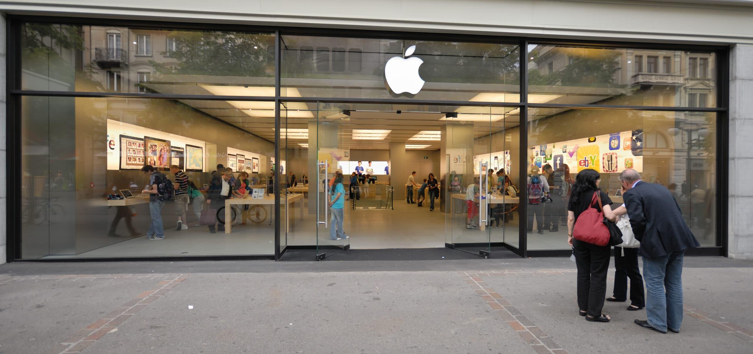 Apple_Store_Bahnhofstrasse_77,_Zürich_(2009)