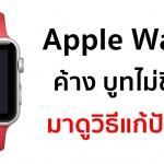 ผู้ใช้จำนวนมากพบปัญหา Apple Watch ค้าง บูทไม่ขึ้น (พร้อมวิธีแก้ปัญหา)
