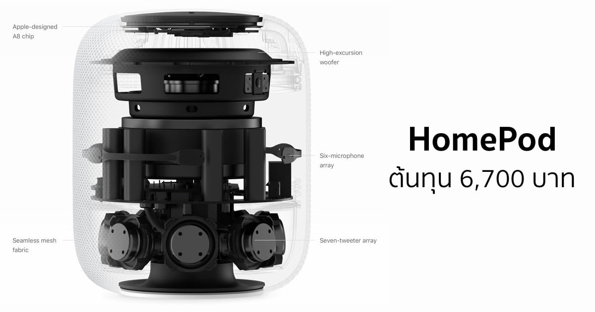 homepod internals cost