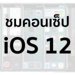 ชมคอนเซ็ป iOS 12 มาพร้อมฟีเจอร์ Lock Apps, FaceTime แบบกลุ่ม, เปิด 2 จอได้