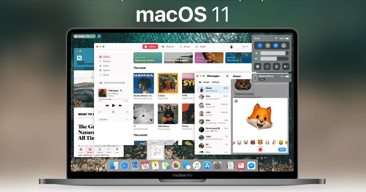 concept macos11