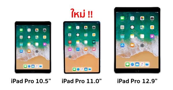 [ลือ] iPad Pro รุ่นใหม่ มาพร้อมจอ 11 นิ้ว เปิดตัวในงาน ...
