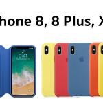 """Apple เริ่มจำหน่ายเคส iPhone 8, 8 Plus, X สีใหม่ """"Spring Collection"""" แล้ววันนี้"""