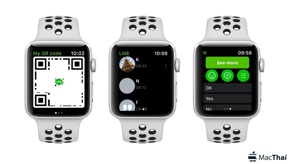 line-support watchos-4-apple-watch-2