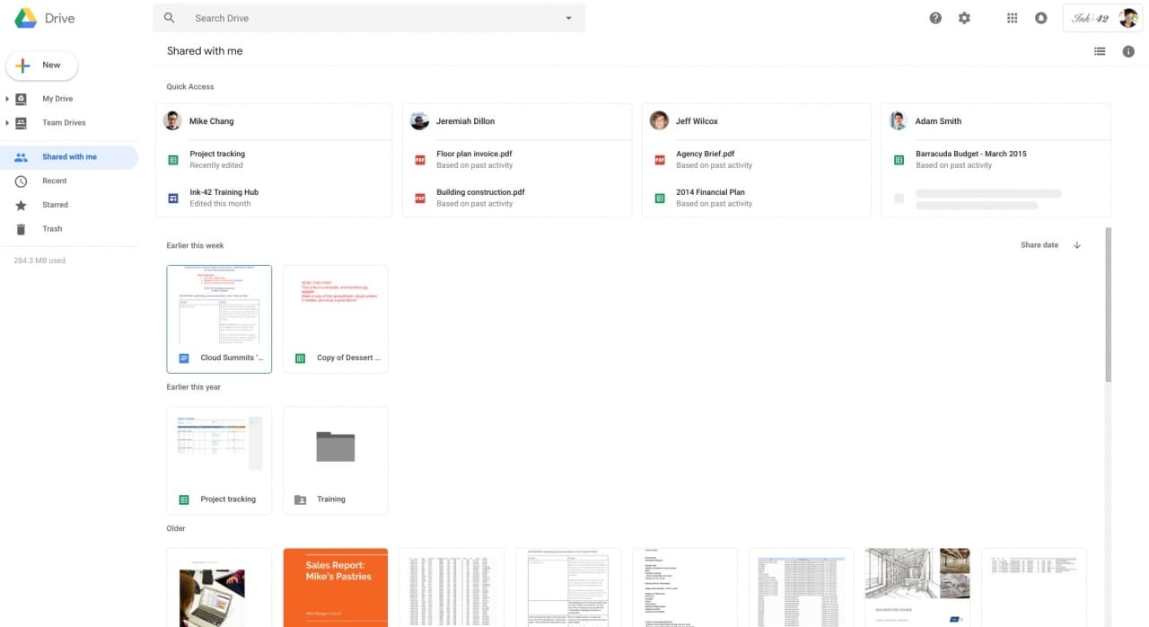 Google drive new ui-3