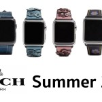 "Coach เปิดตัว ""Saddle"" และ ""Denim"" สาย Apple Watch หนังแบบใหม่ ต้อนรับ Summer นี้"