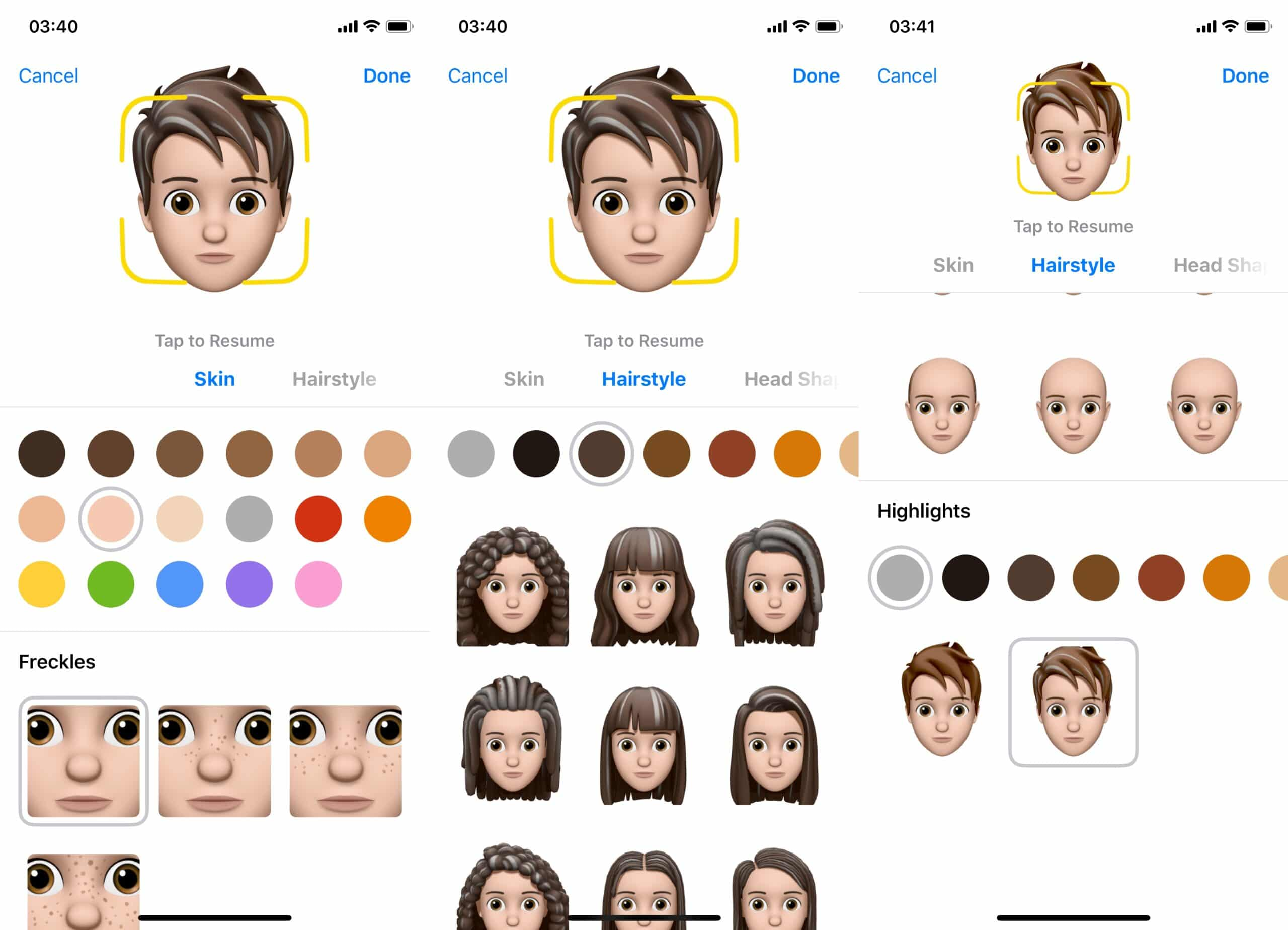 Memoji iOS 12 iPhone X-1