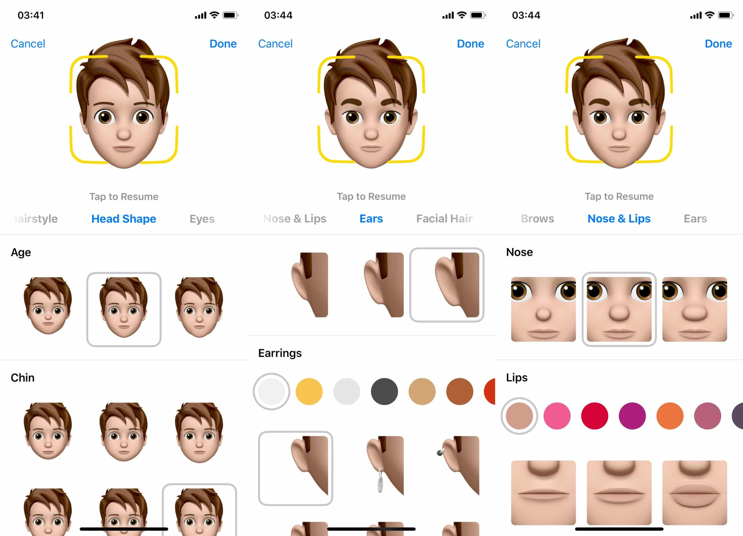 Memoji iOS 12 iPhone X-2