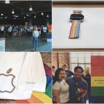 Apple โปรโมท Apple Watch Pride Edition ใหม่ พร้อมจัดร้านใหม่และแจกเสื้อให้พนักงาน