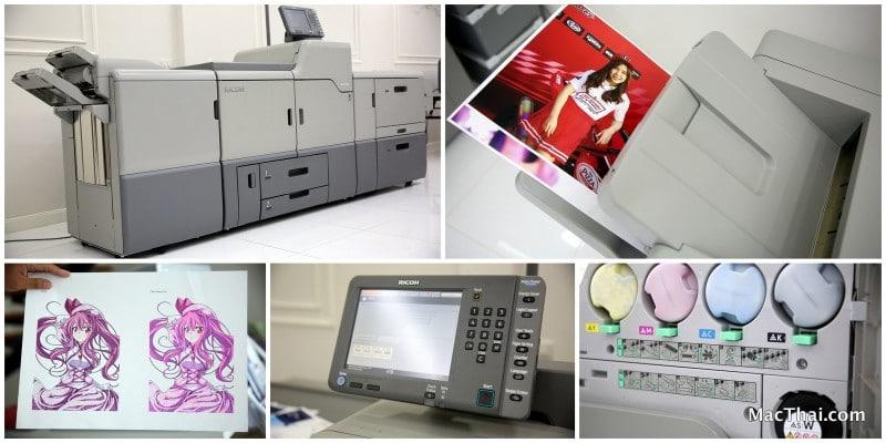 Ricoh Printing MacThai