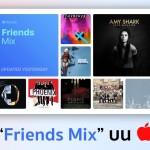 "Apple Music เปิดตัว Playlist ""Friends Mix"" ไว้ฟังเพลงที่เพื่อน ๆ ฟังกัน"