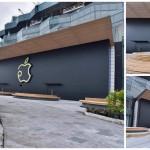 [ชมภาพ] ร้าน Apple Store สาขา Iconsiam ติดป้ายสวยงาม พร้อมเปิด 10 พ.ย. นี้ เวลา 10.00 น.