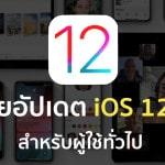Apple ปล่อยอัปเดต iOS 12.0.1 ให้กับผู้ใช้ทั่วไปแล้ว เน้นแก้ไขบั๊กการชาร์จ, Wi-Fi , ย้ายปุ่ม .?123 บน iPad กลับมาที่เดิม