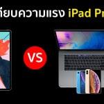 ผลทดสอบ GeekBench เผย iPad Pro รุ่นใหม่ สเปกแรงพอ ๆ กับ MacBook Pro 15″ รุ่นปี 2018