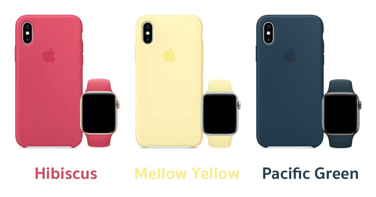 apple-launches-iphone-xs-cases-and-apple-watch-bands-in-three-new-colors