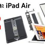 iFixit ชำแหละ iPad Air รุ่นใหม่ มาพร้อม RAM 3GB, ความจุแบตเตอรี่เพิ่มขึ้น 10.8%