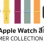 Apple วางจำหน่าย สาย Apple Watch: Summer Collection พร้อมสีรุ้ง Pride Edition 2019 ใหม่ !!