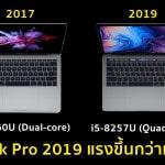 Geekbench เผย CPU ของ MacBook Pro 2019 รุ่นใหม่ เร็วกว่ารุ่นเก่าถึง 83%