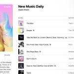 "Apple Music ปล่อย Playlist ""New Music Daily"" ใหม่ อัปเดตเพลงทุกวัน ไม่ซ้ำ !!"