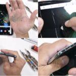 [ชมคลิป] ทดสอบความทนทาน Samsung Galaxy Fold เผยแค่ใช้นิ้วกดแรง ๆ ก็เป็นรอยแล้ว