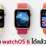 watchOS 6 ปล่อยให้อัปเดตแล้ว !! มาพร้อมฟีเจอร์วัดความดัง, เช็กรอบประจำเดือน และอีกเพียบ !!