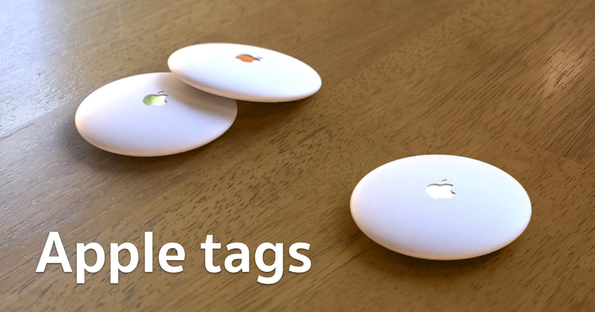 apple tags