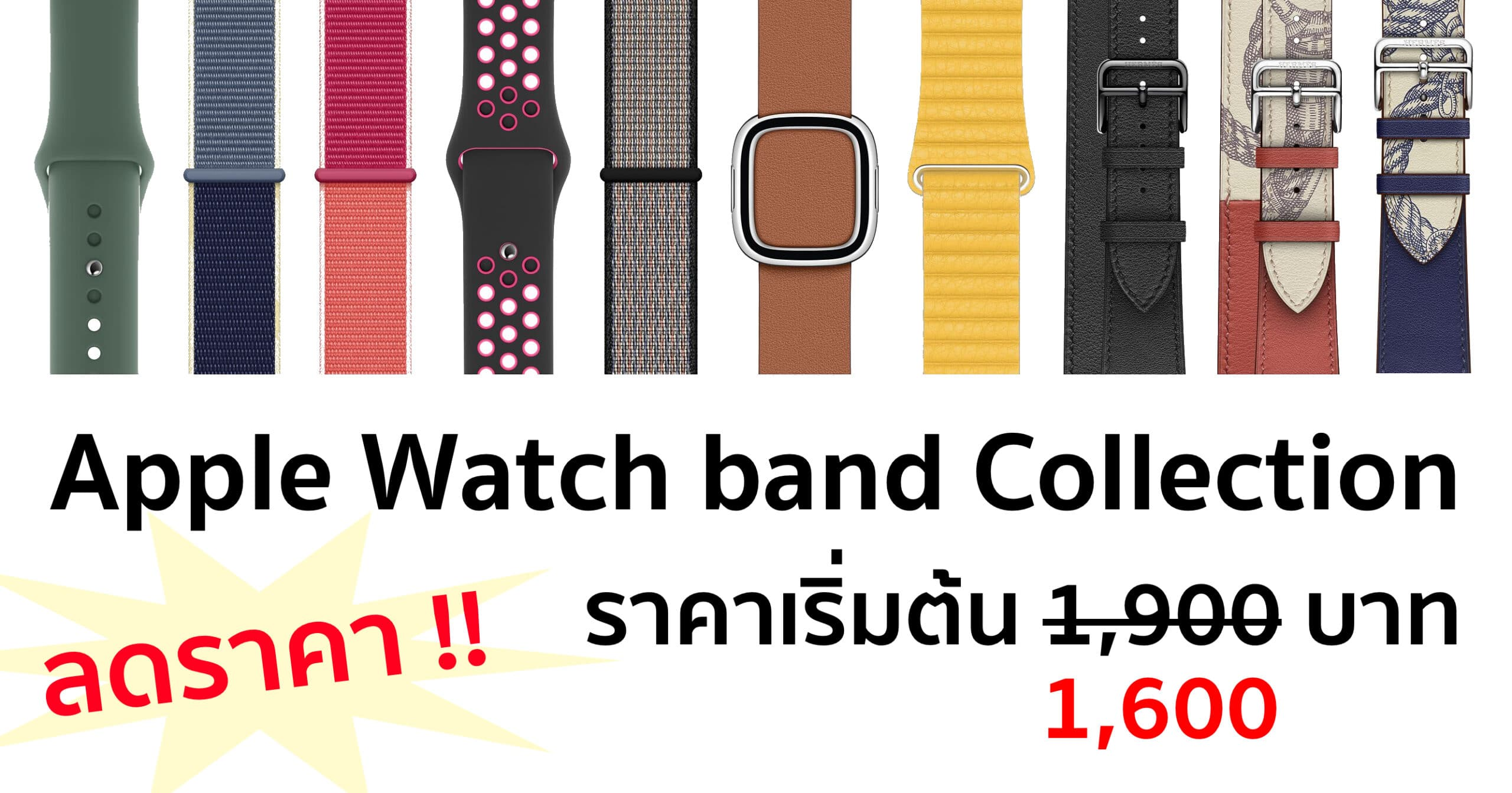 apple watch band fall 2019