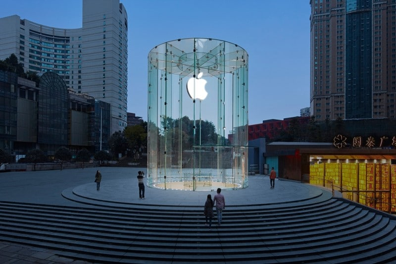 Apple Chongqing ภาพจาก Apple