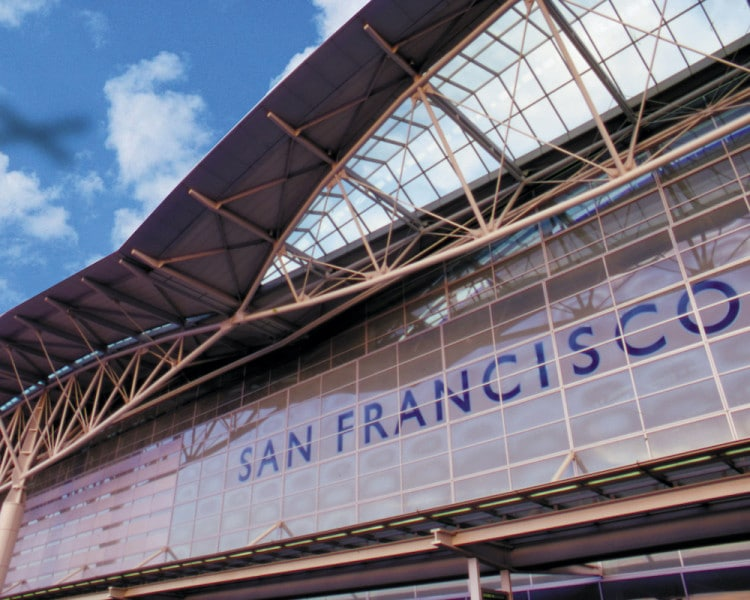 สนามบินนานาชาติซานฟรานซิสโก ภาพจาก United