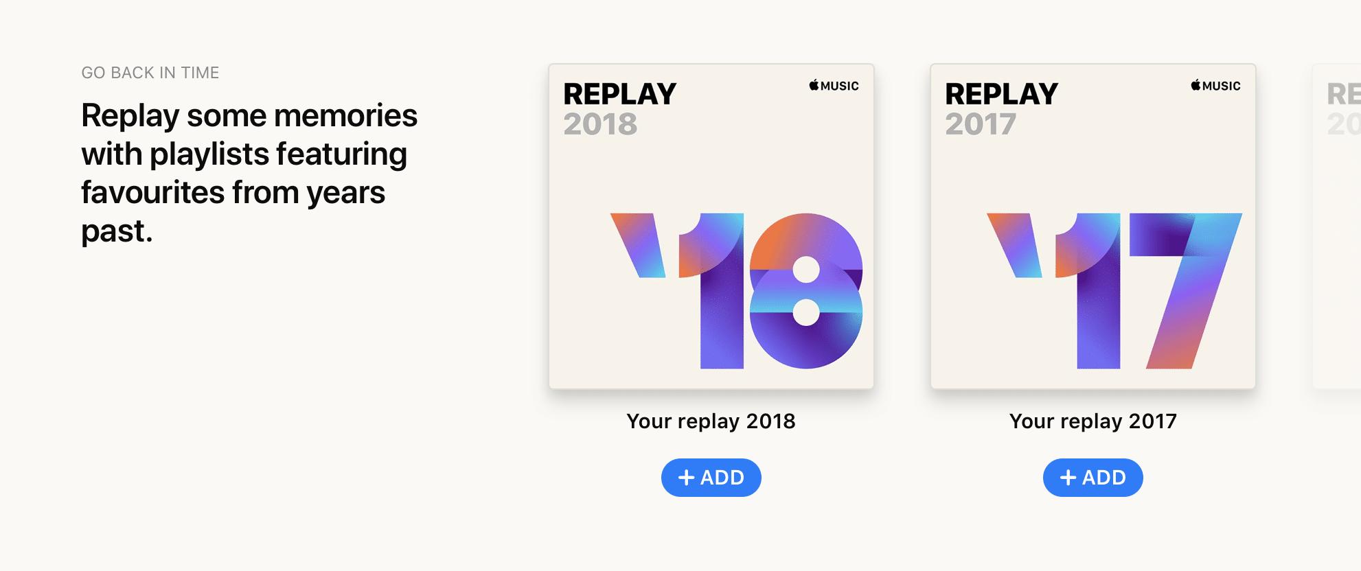 apple music replay 3