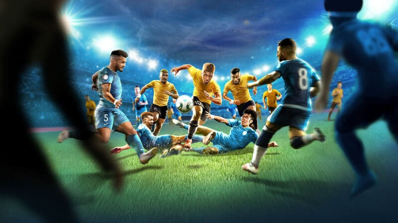 Sociable Soccer ภาพจาก Apple Arcade