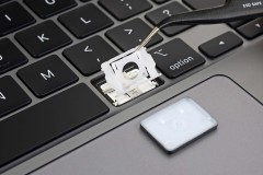 MacBook Pro 16 นิ้ว พร้อมคีย์บอร์ดแบบ butterfly ภาพจาก