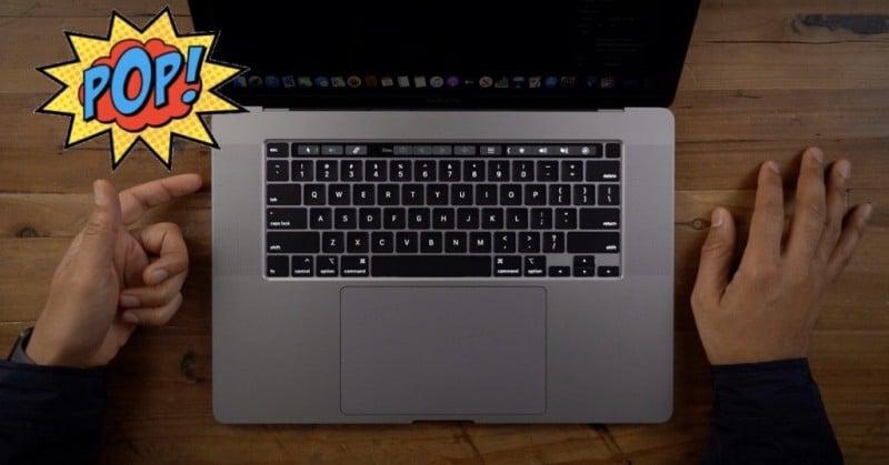 ผู้ใช้งาน MacBook Pro 16 บางรายได้ยินเสียง POP! ดังขึ้น ขณะกำลังใช้งานอยู่