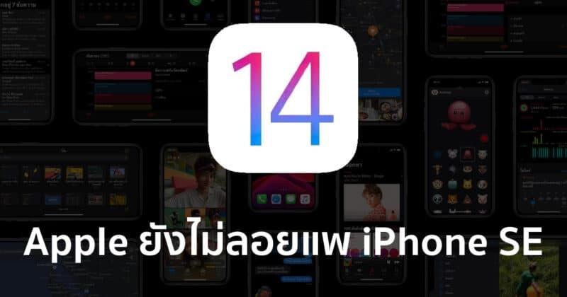 [ลือ] Apple ยังไม่ลอยแพ !! อุปกรณ์ที่รองรับ iOS 13 สามารถอัปเกรดเป็น iOS 14 ได้ทั้งหมด