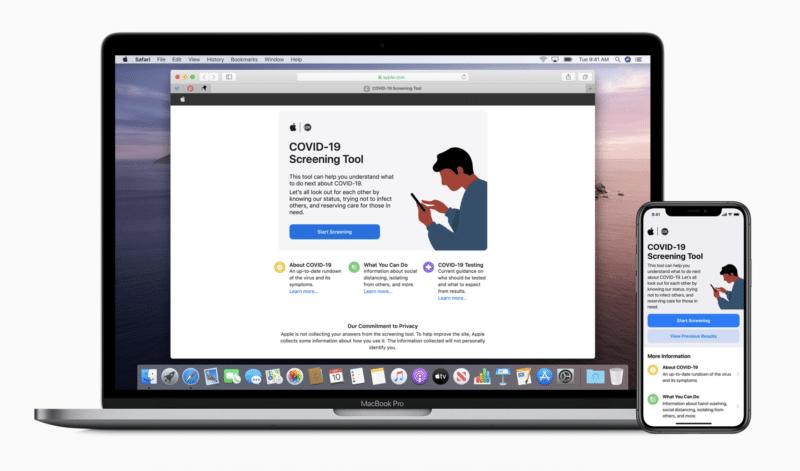 Apple ร่วมมือกับ CDC เปิดตัว แอพคัดกรอง และให้ความรู้ COVID-19 ในสหรัฐฯ