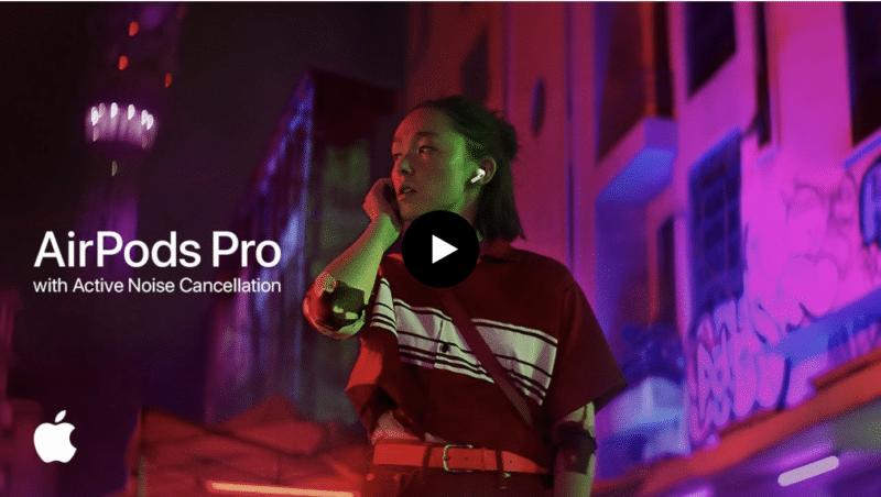 Apple ปล่อยโฆษณา AirPods Pro ใหม่ !! โชว์ฟีเจอร์ Active Noise Cancellation