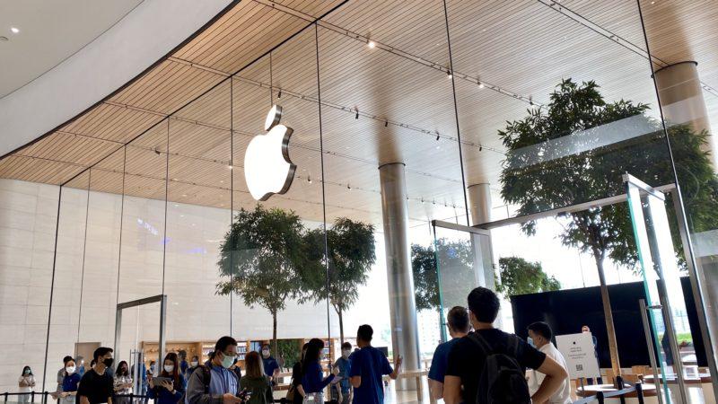 Apple Store สาขา Iconsiam กลับมาเปิดแล้ว พร้อมขาย iPhone SE, เข้าร้านได้เฉพาะซื้อสินค้าเท่านั้น, รับไม่เกิน 140 คน
