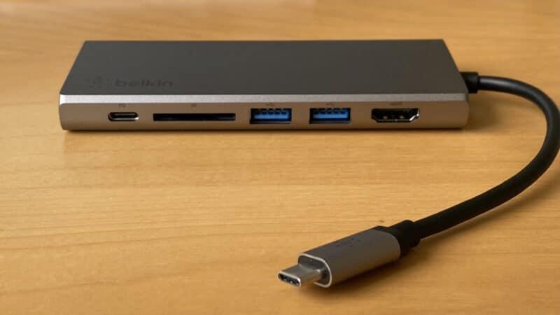 รีวิว Belkin USB-C Multimedia Hub แก้ปัญหาสายเชื่อมต่อบน iPad Pro, MacBook พร้อมช่องเสียบสาย Lan !!