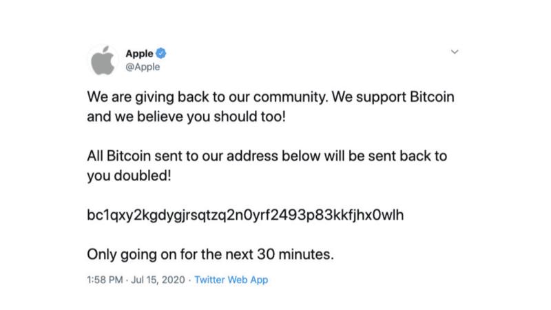 การ Hack Twitter ครั้งใหญ่ เมื่อ Elon Musk, Obama, Warren Buffett ทวีตสแปม ขนาด Apple ก็โดนด้วย