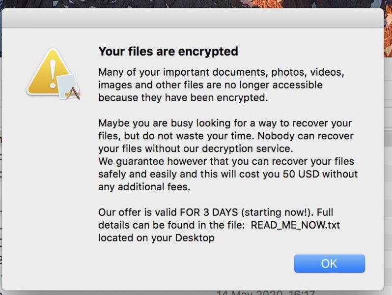 ระวัง! พบ Ransomware หรือ 'มัลแวร์เรียกค่าไถ่' ตัวใหม่มาพร้อมแอปที่โหลดเถื่อนใน Mac