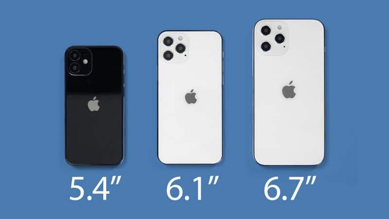 [ชมภาพ] โมเดลจำลอง iPhone 12 ขนาดและดีไซน์ใหม่ ขอบคล้าย iPad Pro, รุ่น 5.4 นิ้วเล็กกว่า iPhone SE !!