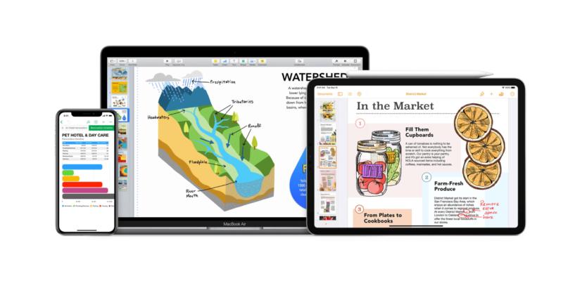 Apple อัพเดตแอป Pages, Numbers, และ Keynote พร้อมฟีเจอร์ใหม่สำหรับ iOS และ iPadOS 14