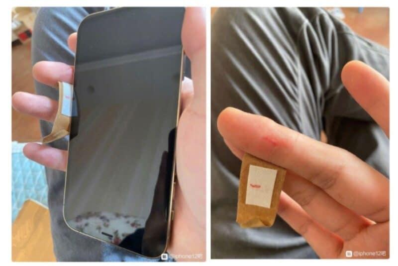 งานเข้า !! เผยขอบเครื่อง iPhone 12 แหลมคมจนบาดมือผู้ใช้บางคน เลือดออกกันเลยทีเดียว