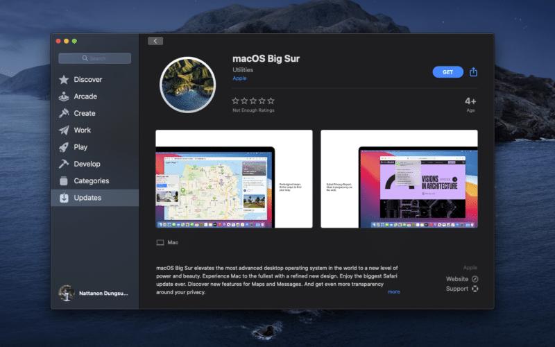 Apple ปล่อยให้อัพเดท macOS Big Sur แล้ว!! มาดูวิธีอัพเดท + รุ่นไหน รองรับบ้าง  ควรอัพเดทหรือยัง