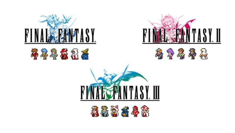 Final Fantasy I, II, III เกมระดับตำนาน เปิดขายบน App Store และ Google Play แล้ว !!