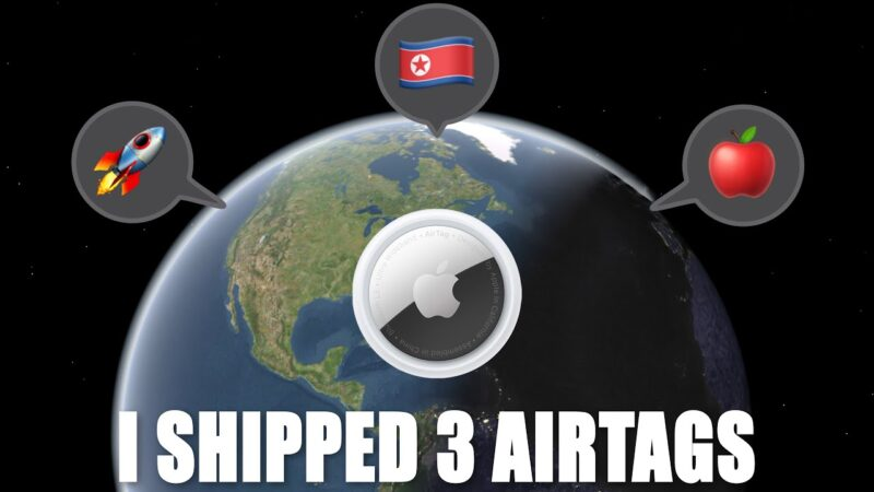 YouTuber ทดลองส่ง AirTags ให้ Tim Cook, Elon Musk และเกาหลีเหนือ สุดท้ายได้จดหมายตอบกลับจาก Apple